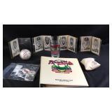 Misc Lot of Atlanta Braves memorabilia