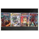 Four  image comics wildcats comic books