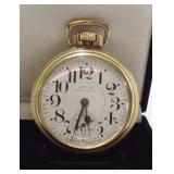 1949 Hamilton 992b RR Grade pocket watch