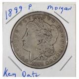 1899P Morgan silver dollar