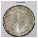 1986 silver eagle dollar