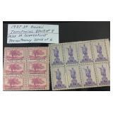 1930s US stamps unused