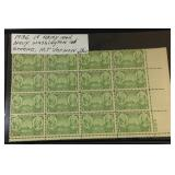 1936 1 cent Army Navy Stamps