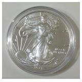 2021 silver eagle dollar