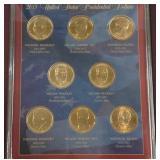 2015 president dollar set