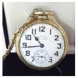 1949 Hamilton 992b 21 jewel pocket watch