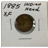 1885 Indianhead Cent