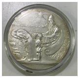 Rare Althing Silver 10 Kronur 1930