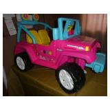 Barbie Jeep Ride on