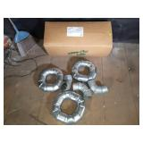"(12) New 3"" Adjustable Elbow Pipe Fittings"