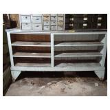Nice Wooded Shelf Unit 72 in. X 40 in. Tall