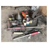 Lubrication Lot Inc. Phillips 66 Cans, Grease Guns