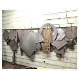 Wall Full of Sheet Metal Templates
