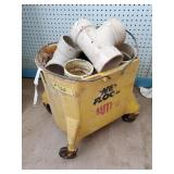 Mop Bucket of PVC Fittings | Mostly 3""
