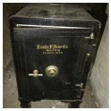 Antique Louis Dow Co. Safe on Rollers