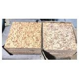 Two Boxes of Asbestos Floor Tile