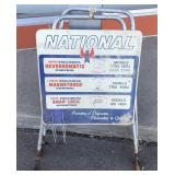 "National Advertising Sign | 32"" x 19"""