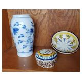 Portuguese Trinket Box | Bing Grondahl Vase