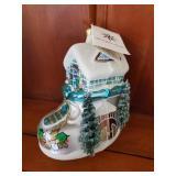 Christopher Radko Shoe House Ornament w/ Tag