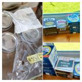 (27) Boxes of Jar Lids | (6) NIP Ball Jars Quart