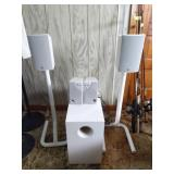 Boston 7, JS, Surround Sound Set | With Stands