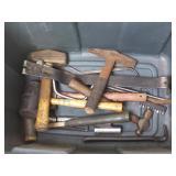 Tote Assortment of Tools