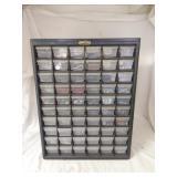 Tough Store 60 Drawer Plastic Parts Cabinet