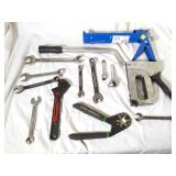 Flat Lot Of Tools, Bionic Wrench, Craftsman Wrench