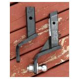 (2) 2 in. Receiver Hitches, 1 With 1 7/8 in. Ball