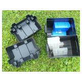 (2) Atwood Sea Guard Battery Cases