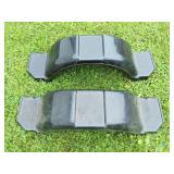 (2) New Plastic Trailer Fenders