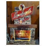 Leinenkugels Fire Place Sign | Working