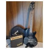 Epiphone Special II Guitar-Black | Studio 10s Amp