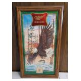 Miller High Life American Reflective Plaque