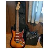 Fender Squier Strat | Squier SP10 Amp