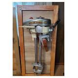 1940s Evinrude Zephyr 5.4hp Outboard Motor