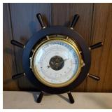 Schatz Holosteric Compensated Barometer Ship Wheel