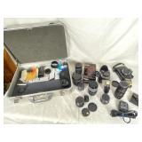 Vivitar Autoflex T4 Camera | Haliburton Case | etc