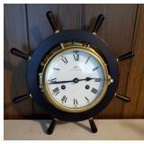 Schatz Ship Wheel Clock | Royal Mariner