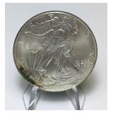 2000 Liberty 1oz fine Silver Dollar