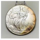 2001 Liberty 1oz Fine Silver One Dollar Coin