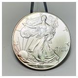 2002 Liberty 1oz Fine Silver One Dollar Coin