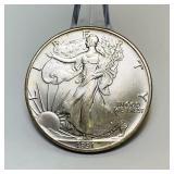 1991 Liberty 1oz Fine Silver Dollar Coin