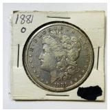 1881o Morgan Dollar Coin