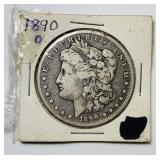 1890o Morgan Dollar Coin