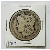 1891o Morgan Dollar Coin