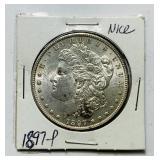 1897 Morgan Dollar Coin