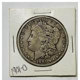 1901o Morgan Dollar Coin