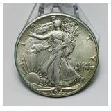 1941 Walking Liberty Half Dollar Coin