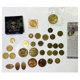 Lot of token/ Souvenir Coins